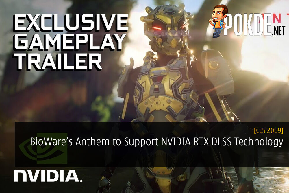 CES 2019 BioWare's Anthem to Support NVIDIA RTX DLSS Technology