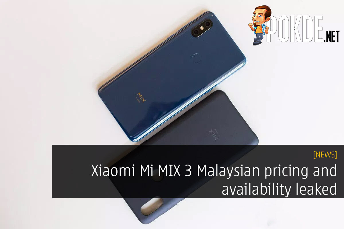 Xiaomi Mi MIX 3 Malaysian pricing and availability leaked 27