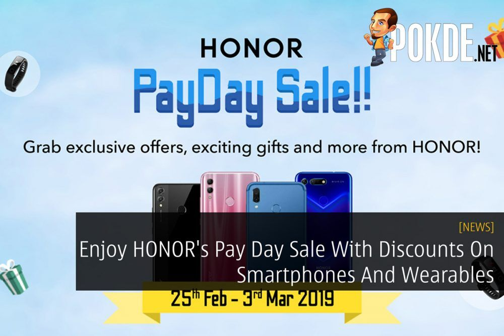 Enjoy HONOR's Pay Day Sale With Discounts On Smartphones And Wearables 27