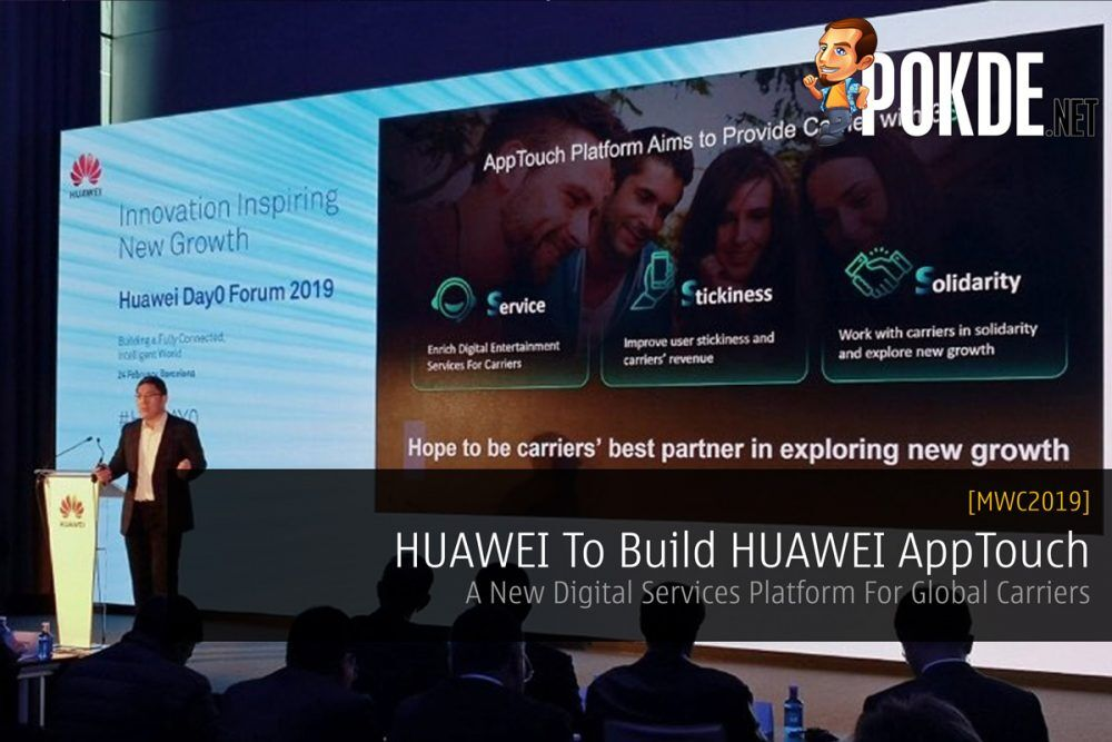 [MWC2019] HUAWEI To Build HUAWEI AppTouch — A New Digital Services Platform For Global Carriers 25