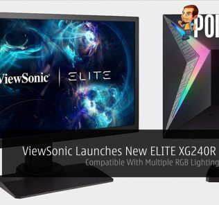 ViewSonic Launches New ELITE XG240R Monitor — Compatible With Multiple RGB Lighting Ecosystem 24
