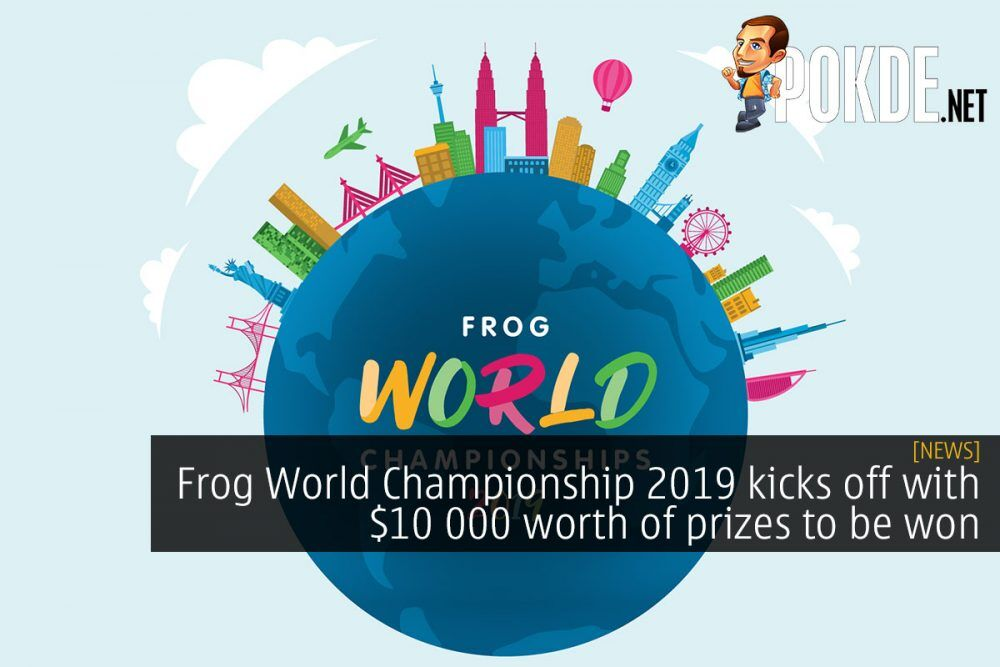Frog World Championship 2019 kicks off with $10 000 worth of prizes to be won 21