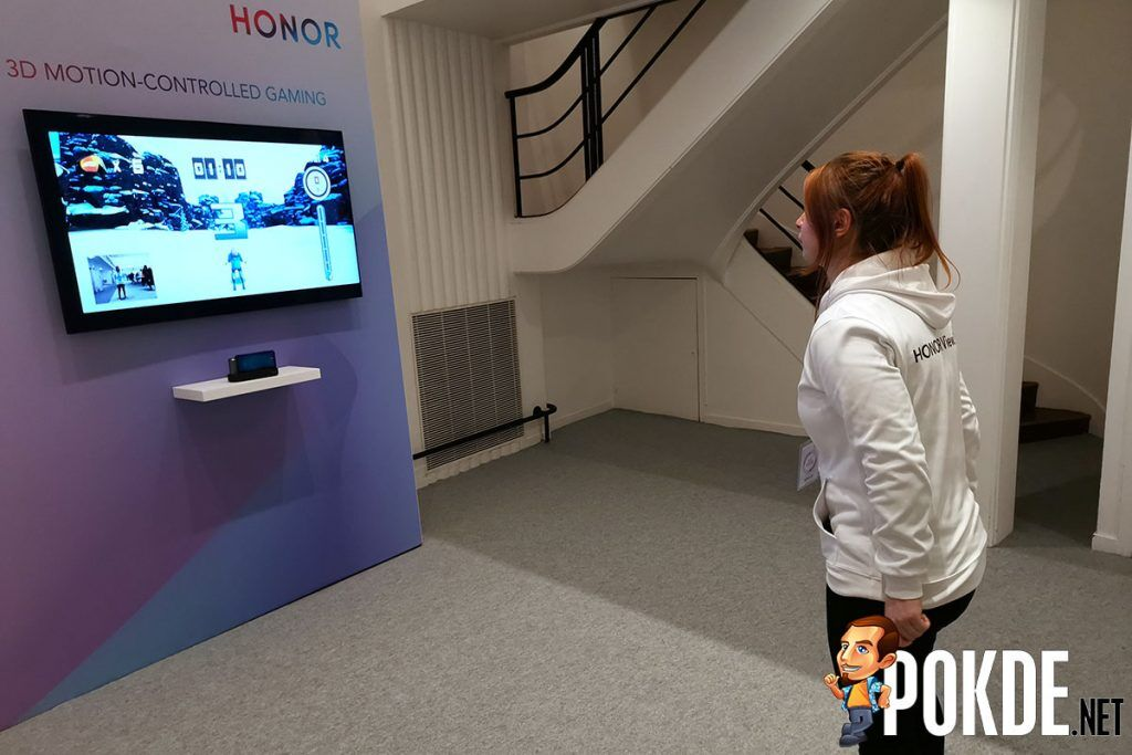 honor view20 3d motion controlled skiing