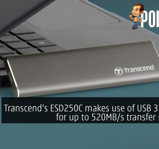 Transcend's ESD250C makes use of USB 3.1 Gen2 for up to 520MB/s transfer speeds! 24