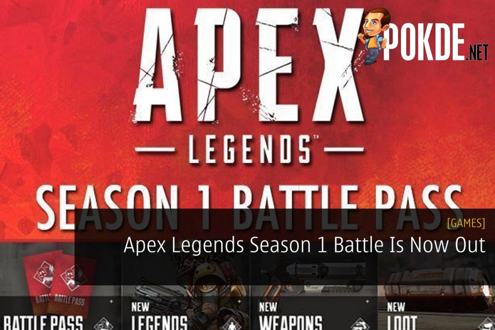 Apex Legends Season 1 Battle Is Now Out 26