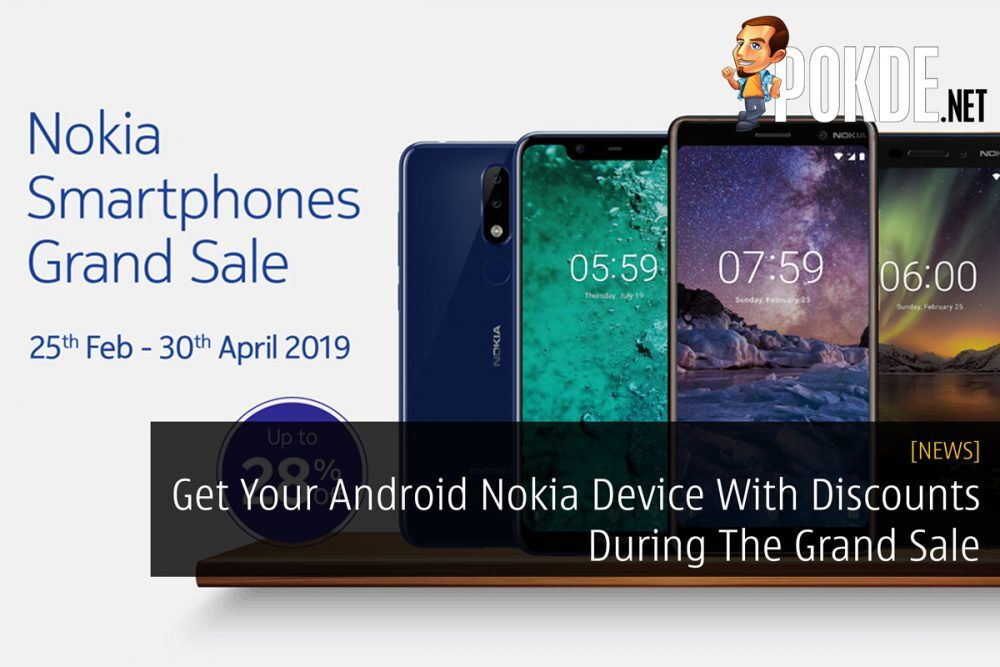 Get Your Android Nokia Device With Discounts During The Grand Sale 23