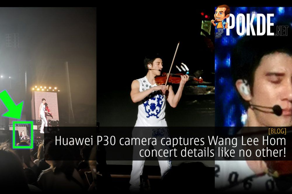 Huawei P30 camera captures Wang Lee Hom concert details like no other! 25