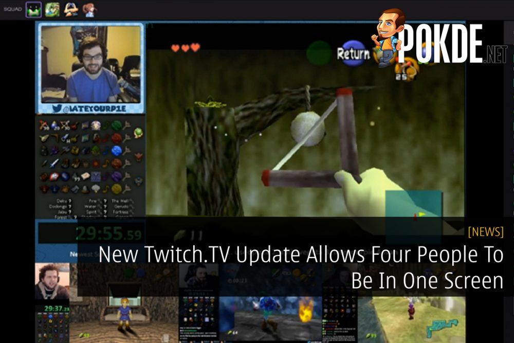 New Twitch.TV Update Allows For Four People To Be In One Screen 17