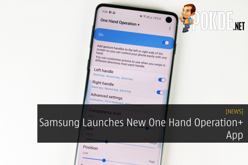 Samsung Launches New One Hand Operation+ App 26