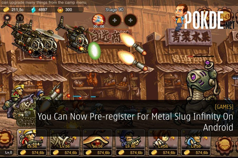 You Can Now Pre-register For Metal Slug Infinity On Android 23