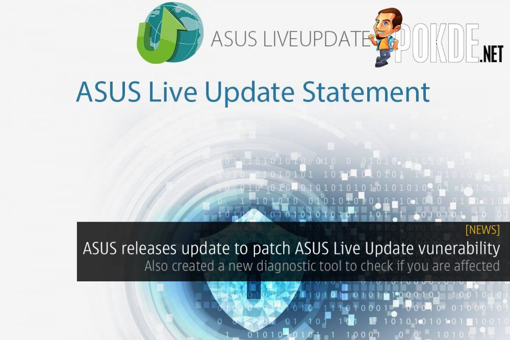 ASUS releases update to patch ASUS Live Update vulnerability — also created a new diagnostic tool to check if you are affected 26