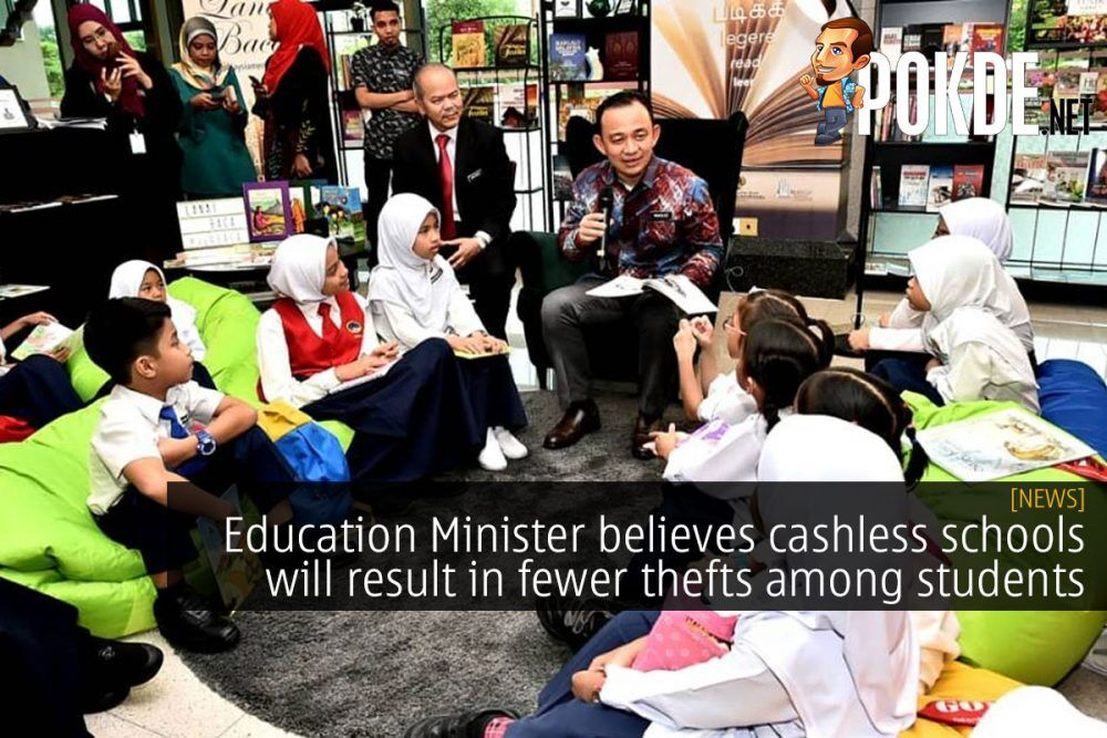 Education Minister believes cashless schools will result in fewer thefts among students 21