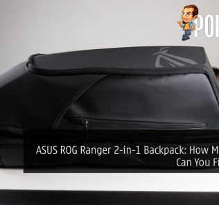 ASUS ROG Ranger 2-in-1 Backpack: How Much Stuff Can You Fit Inside?