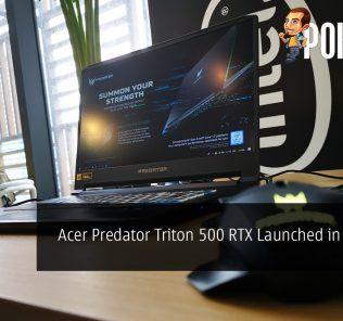 Acer Predator Triton 500 RTX Launched in Malaysia