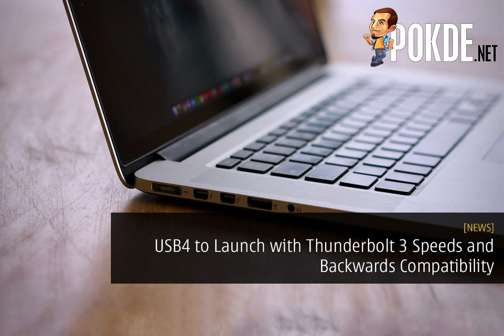 USB4 to Launch with Thunderbolt 3 Speeds and Backwards Compatibility