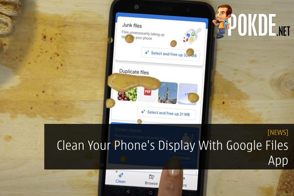 Clean Your Phone's Display With Google Files App 19
