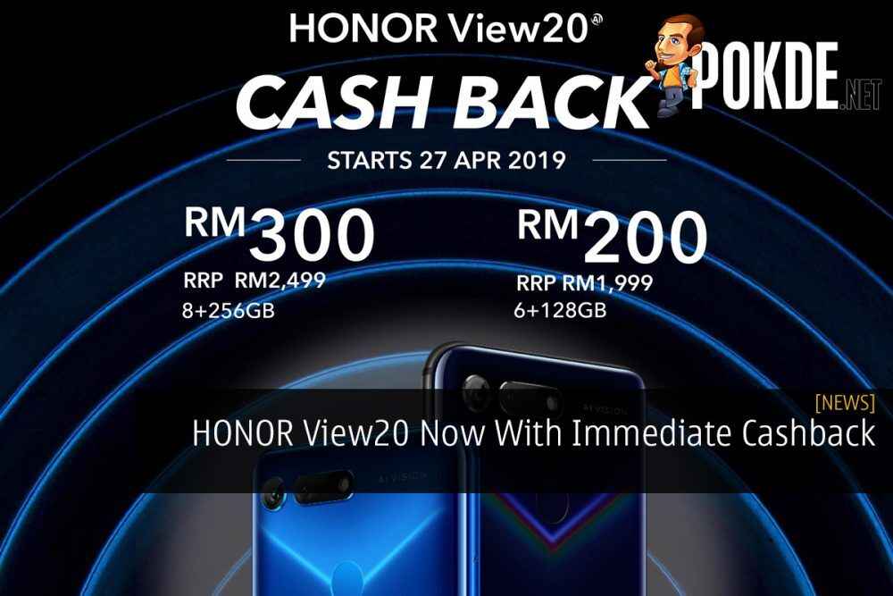 HONOR View20 Now With Immediate Cashback 24