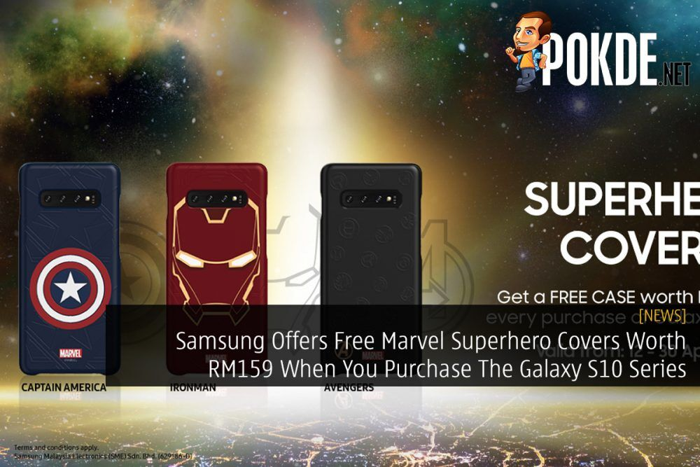 Samsung Offers Free Marvel Superhero Covers Worth RM159 When You Purchase The Galaxy S10 Series 22