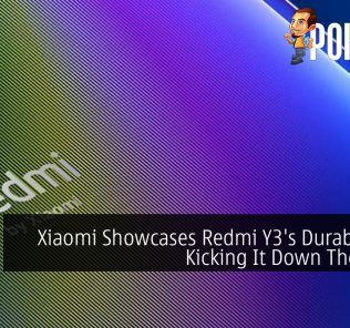 Xiaomi Showcases Redmi Y3's Durability By Kicking It Down The Stairs 27