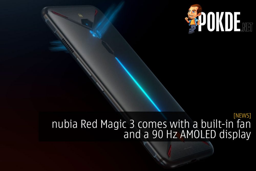 nubia Red Magic 3 comes with a built-in fan and a 90 Hz AMOLED display 18
