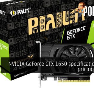 NVIDIA GeForce GTX 1650 specifications and pricing leaked 23
