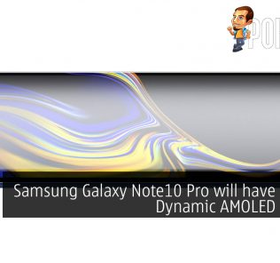 """Samsung Galaxy Note10 Pro will have a 6.75"""" Dynamic AMOLED display 32"""