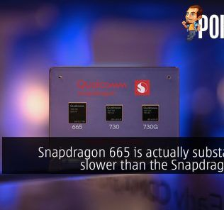Snapdragon 665 is actually substantially slower than the Snapdragon 660? 56