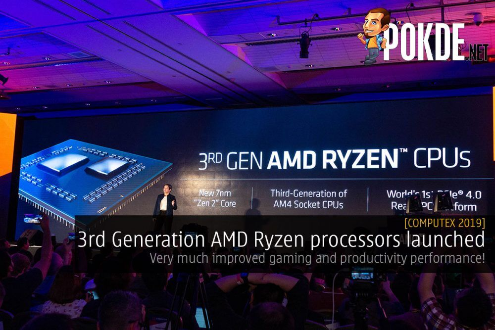 [Computex 2019] 3rd Generation AMD Ryzen processors launched — very much improved gaming and productivity performance! 20