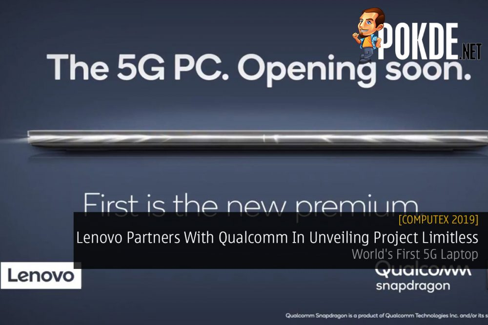 [Computex 2019] Lenovo Partners With Qualcomm In Unveiling Project Limitless — World's First 5G Laptop 18