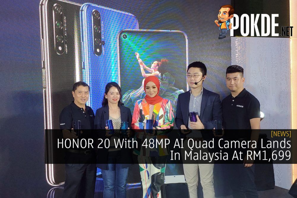 HONOR 20 With 48MP AI Quad Camera Lands In Malaysia At RM1,699 23