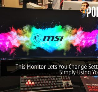 This Monitor Lets You Change Settings By Simply Using Your Face 27