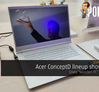 "[Computex 2019] Acer ConceptD lineup showcased — gives ""wooden PC"" a new take 29"