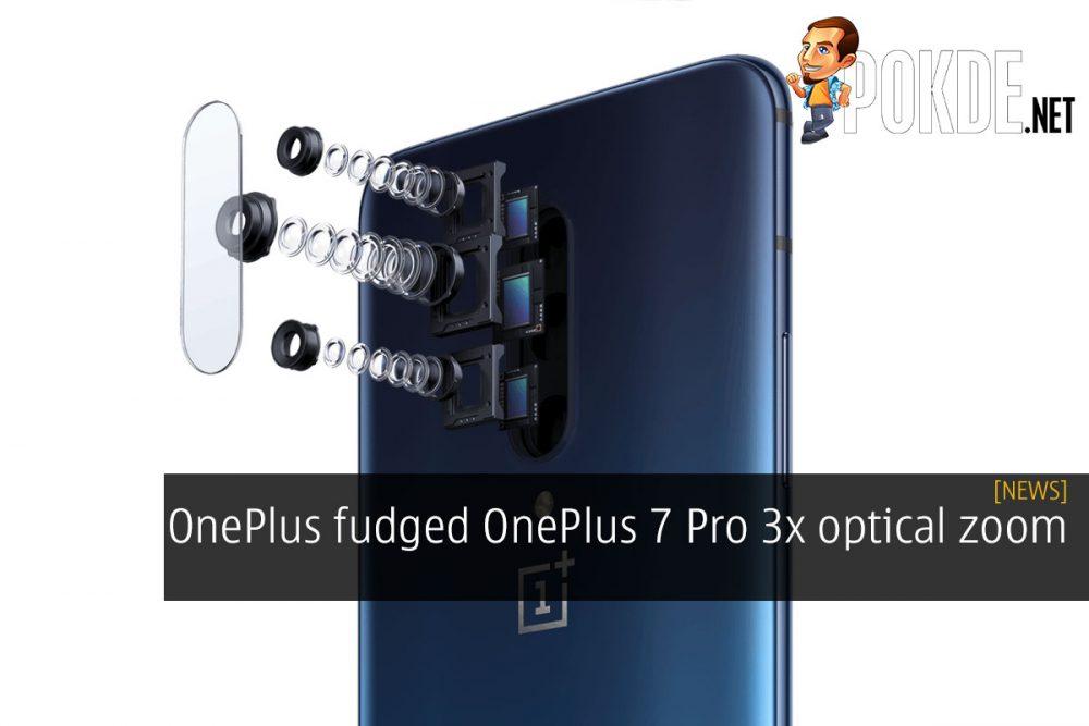OnePlus fudged OnePlus 7 Pro 3x optical zoom 22