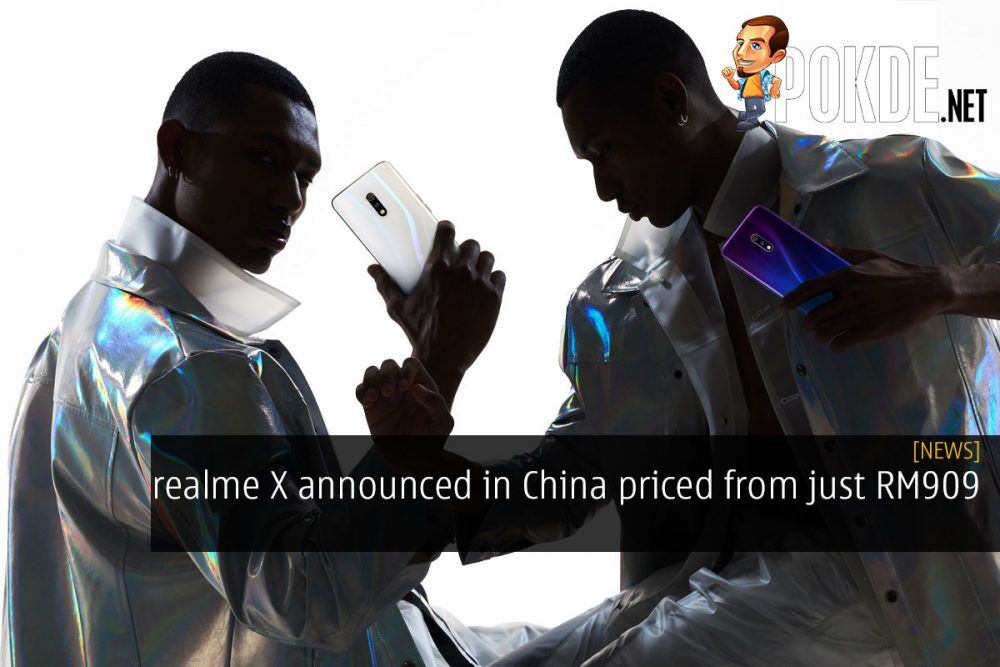realme X announced in China priced from just RM909 22