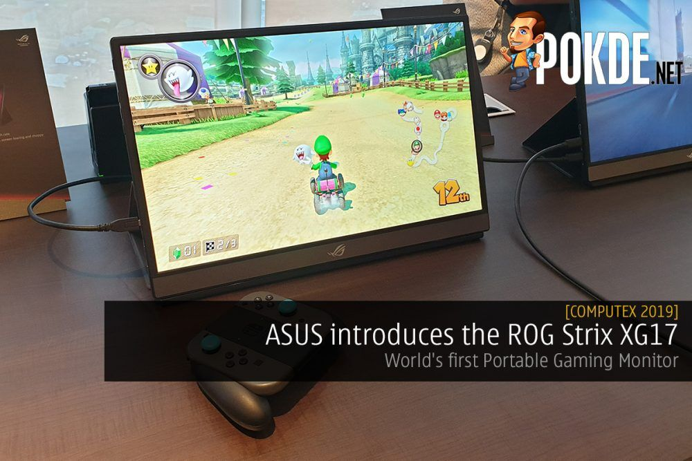 [Computex 2019] ASUS introduces the ROG Strix XG17 - World's first Portable Gaming Monitor 19