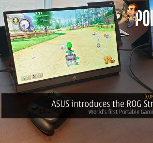 [Computex 2019] ASUS introduces the ROG Strix XG17 - World's first Portable Gaming Monitor 24