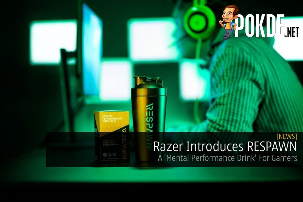 Razer Introduces RESPAWN — A 'Mental Performance Drink' For Gamers 17