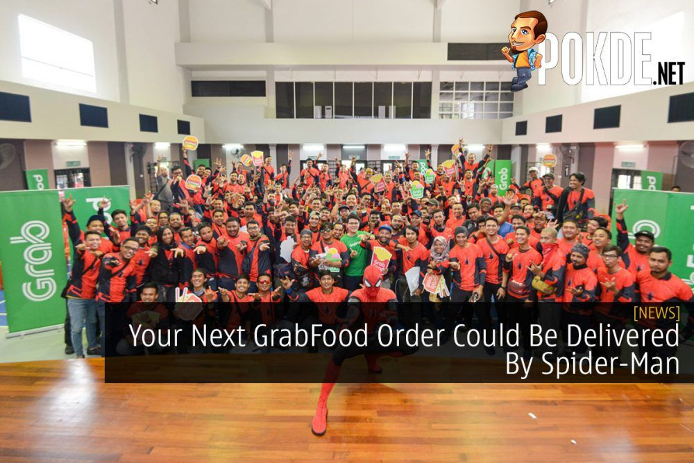 Your Next GrabFood Order Could Be Delivered By Spider-Man 24