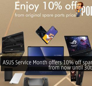 ASUS Service Month offers 10% off spare parts from now until 30th June! 22
