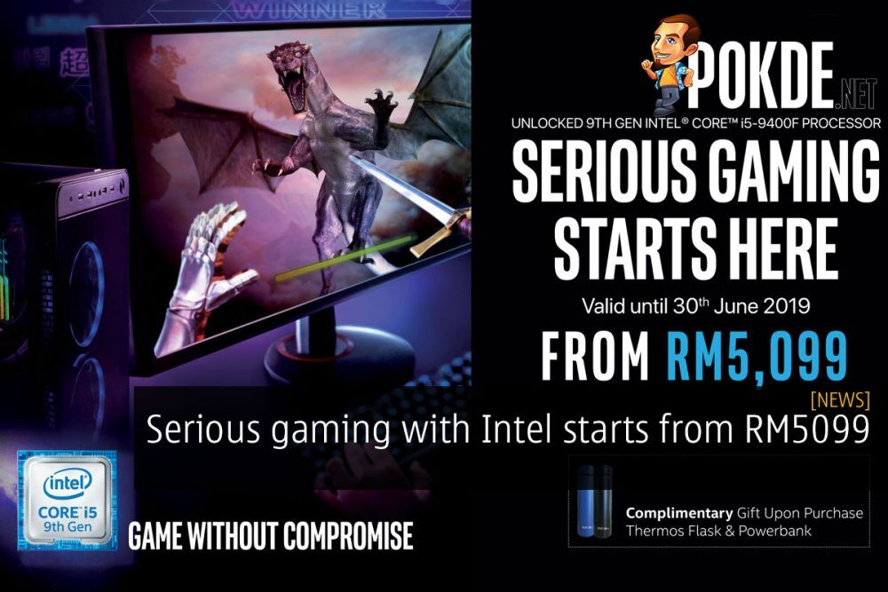 Serious gaming with Intel® starts from RM5099 20