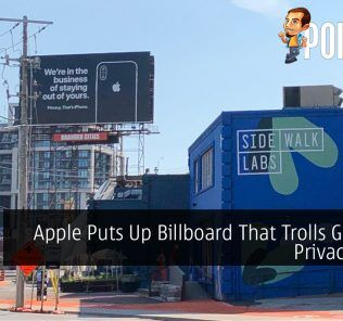 Apple Puts Up Billboard That Trolls Google's Privacy Issue 25