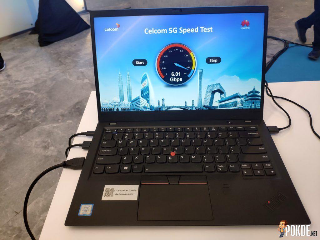 Celcom-5G-Speed-test