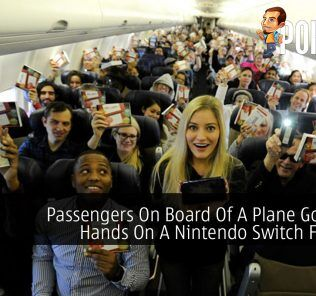 Passengers On Board Of A Plane Got Their Hands On A Nintendo Switch For Free 23