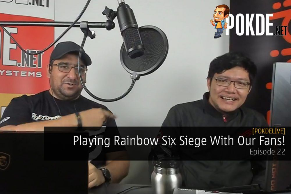 PokdeLIVE 22 — Playing Rainbow Six Siege With Our Fans! 21