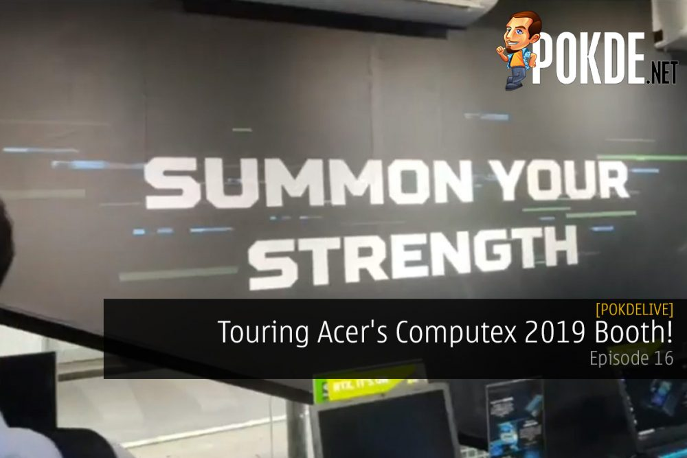PokdeLIVE 16 — Touring Acer's Computex 2019 Booth! 21