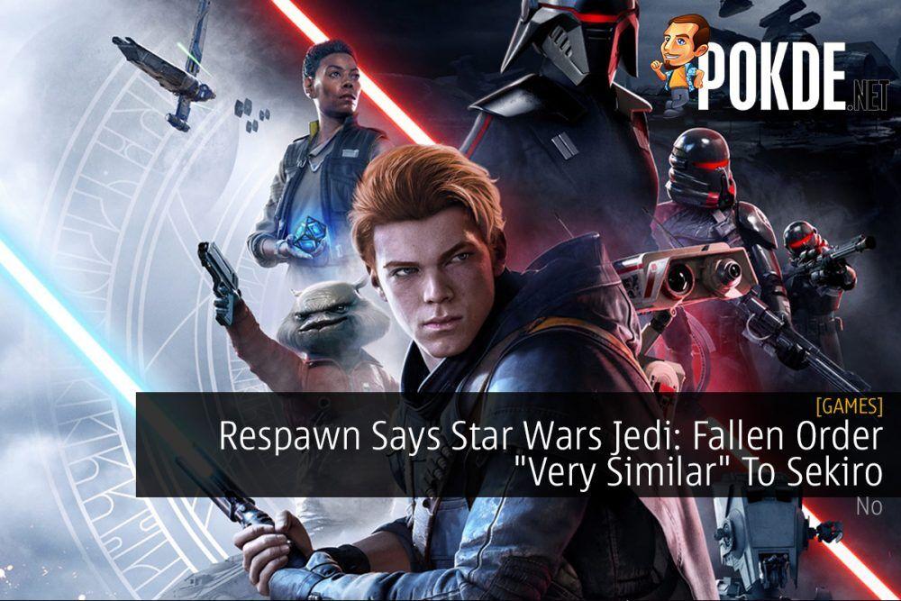 "Respawn Says Star Wars Jedi: Fallen Order ""Very Similar"" To Sekiro 23"