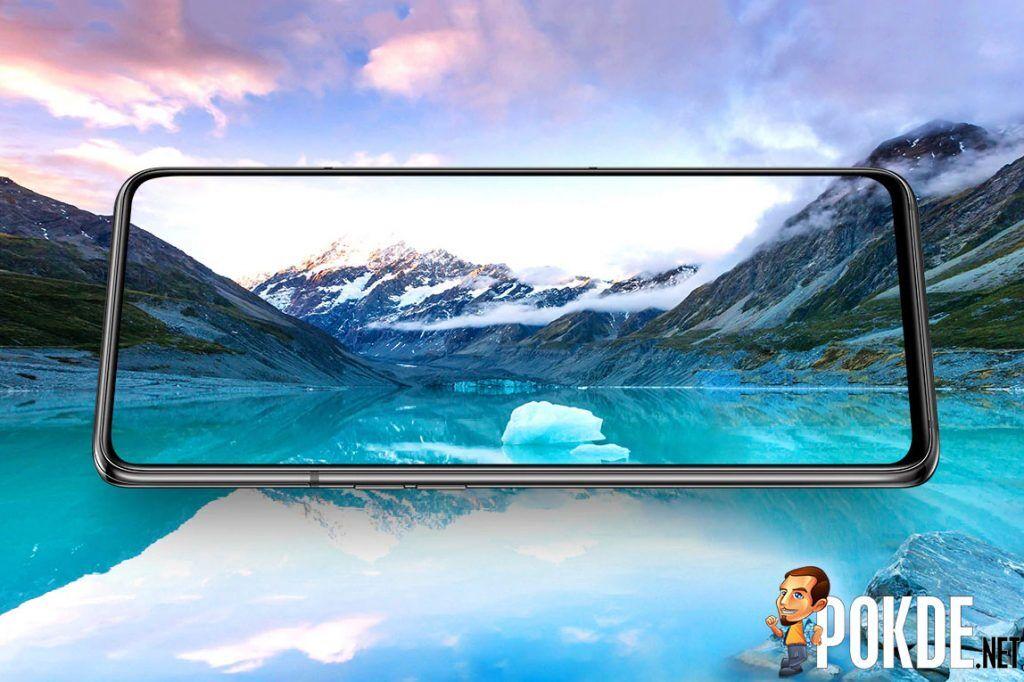 Samsung Galaxy A80 screen