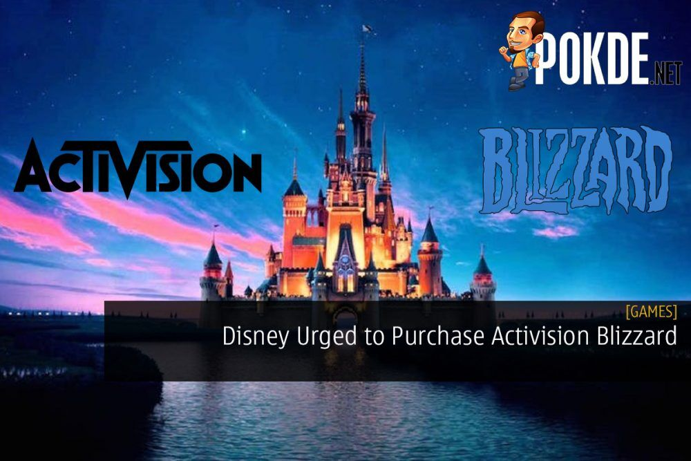 Disney Urged to Purchase Activision Blizzard