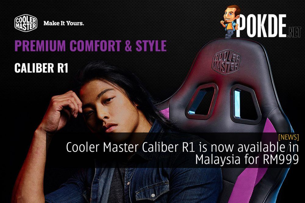 Cooler Master Caliber R1 is now available in Malaysia for RM999 20