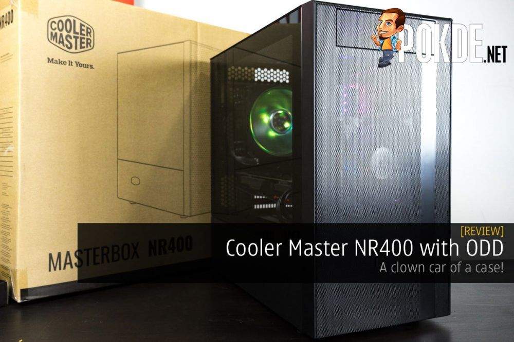 Cooler Master NR400 with ODD Review — a clown car of a case! 20